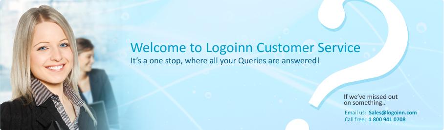 customer service logoinn
