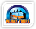 We created this logo for wijaya tours