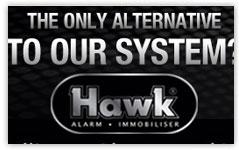 hawk alarm banner design