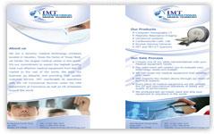 imt international brochure design