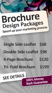 Brochure Design Packages