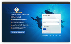 goal chiever website design
